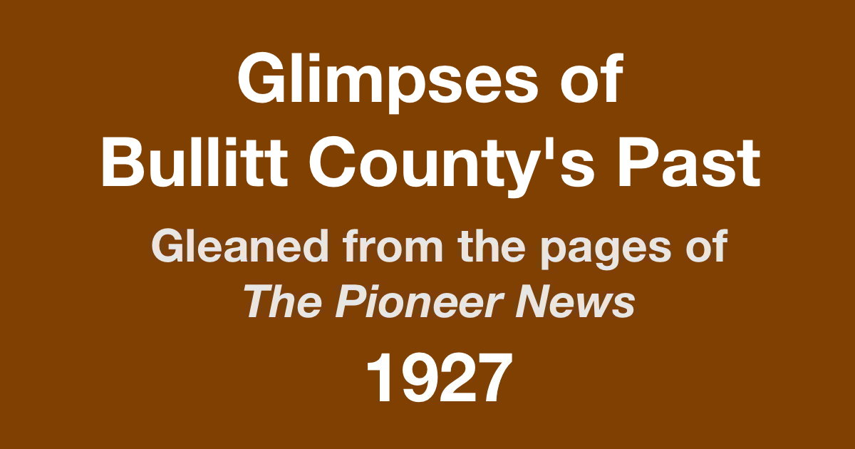 The Bullitt County History Museum It Happened In - Rent invoice template word pioneer woman mercantile online store